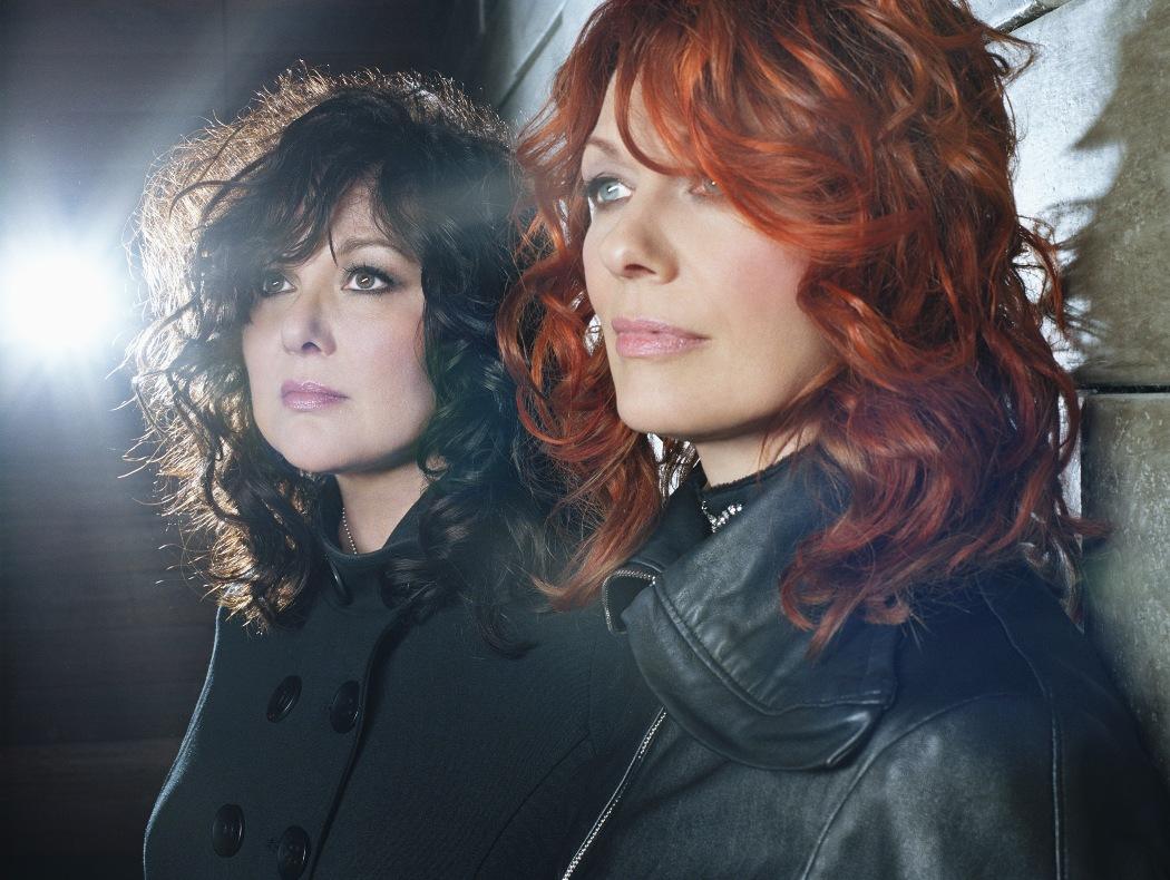 Home Around the Web Ann and Nancy Wilson  Led Zeppelin CoverAnn Nancy Wilson