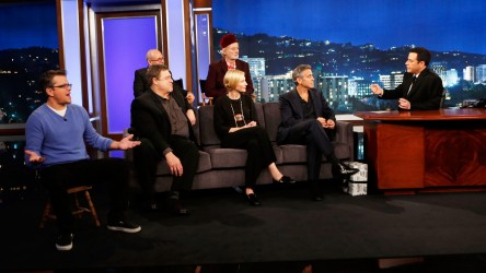 MATT DAMON, JOHN GOODMAN, BOB BALABAN, BILL MURRAY, CATE BLANCHETT, GEORGE CLOONEY, JIMMY KIMMEL